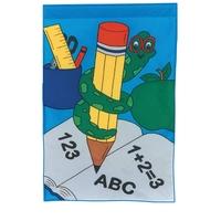 School stock design flag