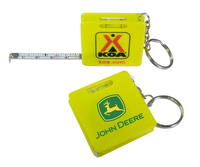 Measuring Tape Keychain - Yellow - E678