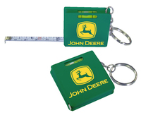 Measuring Tape Keychain - Green - E678