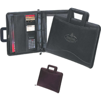 Harvard Binder 3-Ring Portfolio with Retractable Handsles
