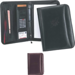 Ranier Binder Leather 3-Ring Portfolio