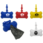Camera Bone Shaped Bag Dispenser