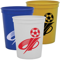 Cups-On-The Go 16 oz Stadium Cups Solid Colors