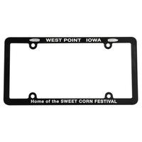 Full View License Plate Frame