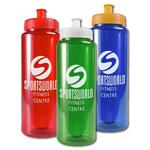 The Guzzler 32 oz Transparent Bottle