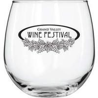 17 oz Stemless Red Wine Glass