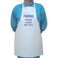 Low-cost disposable apron