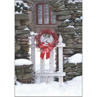 Snowy Gate Wreath