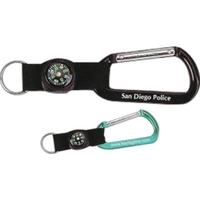 Carabiner with Compass Strap