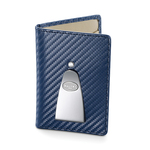 Continental Credit Card & Money Clip (Navy)