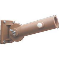 Adjustable Tan Flagpole Bracket
