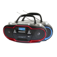 SuperSonic Portable MP3/CD Player w/ USB/Aux Inputs & AM/FM