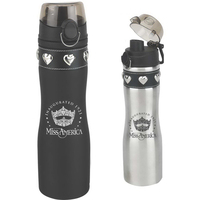 24 oz. Tuff Luv Stainless Water Bottle