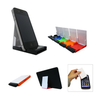 Media Stand with Screen Cleaner
