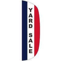 3' x 10' Message Flutter Flag - Yard Sale