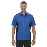 North End® Men's Tall Fuse Colorblock Twill Shirt