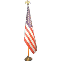 Mounted USA flag sets
