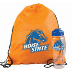 Drawstring Backpack in a Bottle