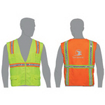 Traditional surveyor safety vest