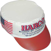 Polyester felt painter cap