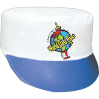 White Dimple Felt Painter Cap