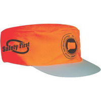 Ten mile orange safety cap