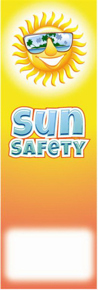 Sun Safety Bookmark
