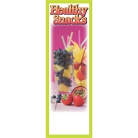 Healthy Snacks Bookmark