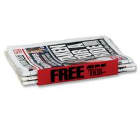 Newspaper Sled (Holder)