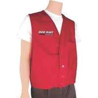 Button Front Uniform Vest
