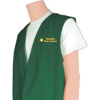 Open Front Uniform Vest