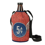 Growler Cover with Strap 4CP