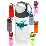 Plastic Water Bottles with Carabiner