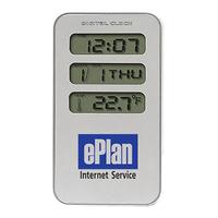 Metal Alarm Clock and Calendar
