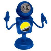 MEMOMAN (TM) - Document Holder Clock