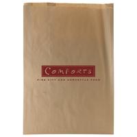 Natural Kraft Paper Merchandise Bags