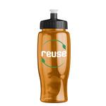 Poly-Pure 27 oz Transparent Bottles