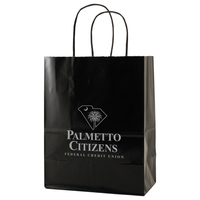 Gloss Coated Paper Shopping Bags