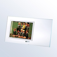 Starfire Horizontal Photo Frame with Silver Pole