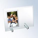 Beveled Glass Vertical Mirror Photo Frame