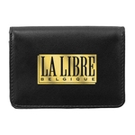 Roma Deluxe Gusseted Business Card Wallet