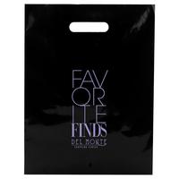 Black Patch Handle Bags