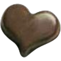 Chocolate Hearts Playing Card Symbol
