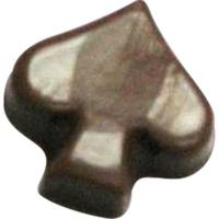 Chocolate Spade Playing Card Symbol
