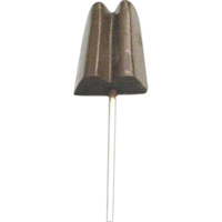 Chocolate Popsicle Double Large On A Stick