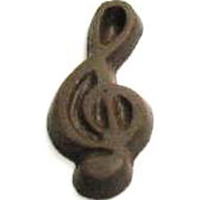 Chocolate Treble Clef
