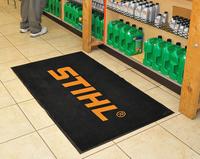 Flocked Nylon Olefin Cut Pile Carpet Floor Mat