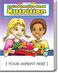 Let's Practice Good Nutrition Coloring and Activity Book