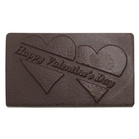 Happy Valentines Day Chocolate Business Card