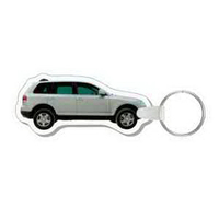 4-Color Process SUV Punch Key Tags